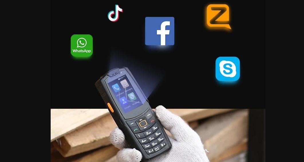 Telefon proizvođača AGM, rugged model A7